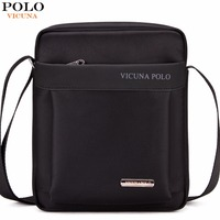 VICUNA POLO Light Weight Oxford Mens Messenger Bags For IPad Durable Fashion Men Shoulder Bag Small