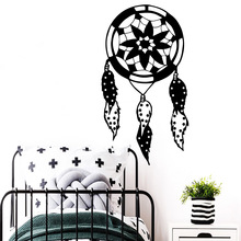 Lovely Dreamcatcher Wall Stickers Vinyl Waterproof Decor For Home Decor Living Room Bedroom Decoration Waterproof Wallpaper цена и фото