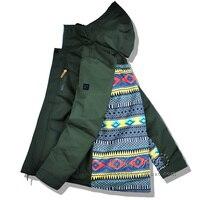 GSOU Снежная Мужская лыжная куртка сноуборд зимняя одежда ветрозащитная водостойкая дышащая супер теплая походная Лыжная куртка