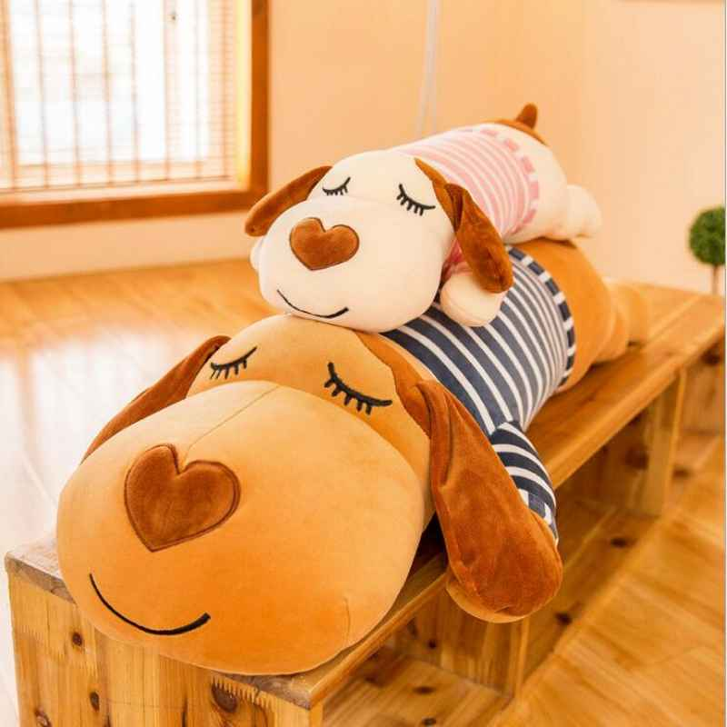 120/140cm 2 styles Cute Giant Plush Dog Large Big Stuffed Toys Animals Plush Life Size Kid Children Baby Dolls Valentine Gift 150cm the big hero 6 plush toys big size baymax plush dolls movies