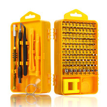 Screwdriver Set 108 in 1 Sets Multi-function Computer PC Mobile Phone Cellphone Digital Electronic Device Repair Home Tools Bit(China)