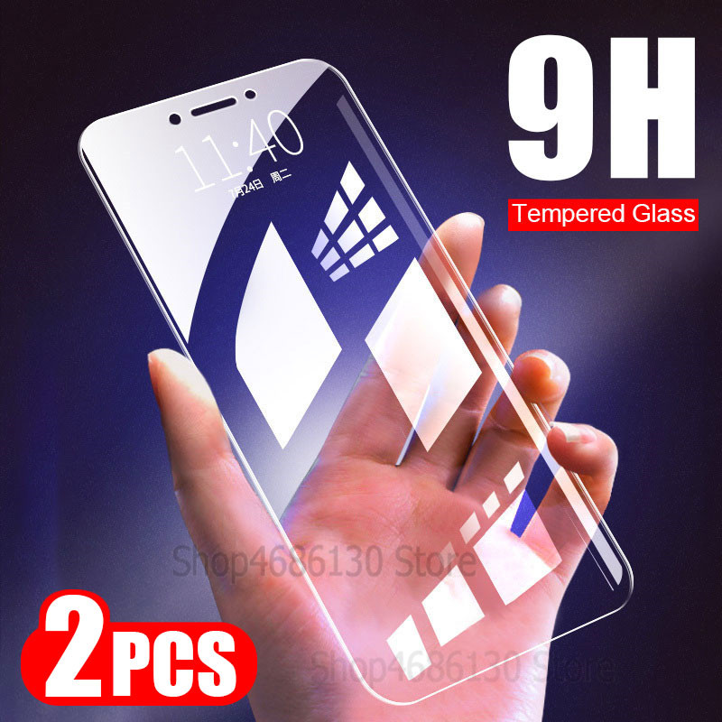 2Pcs/lot 9H Temperd Glass For Xiaomi Redmi Note 5 Pro 5A 6 Screen Protector For Redmi 5 Plus 6A Note 6 Pro Glass Protective Film