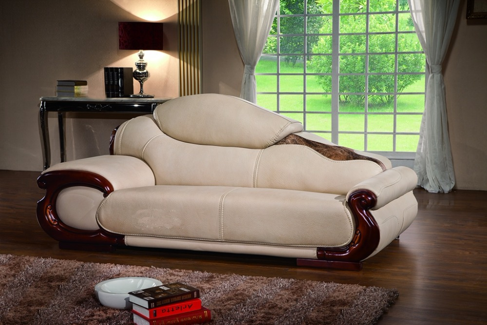 Antique European Leather Sofa Set Living Room Sofa Made In China Sectional  Sofa 1+4+chaise In Living Room Sofas From Furniture On Aliexpress.com |  Alibaba ...