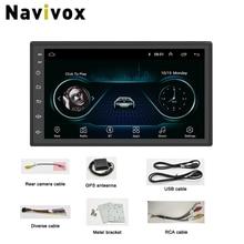 """Navivox 7 """"2Din 8.1 Lettore DVD Dell'automobile Per Nissan Volkswagen TOYOTA Honda Hyundai KIA Lada Renault mazda Auto Universale radio GPS"""