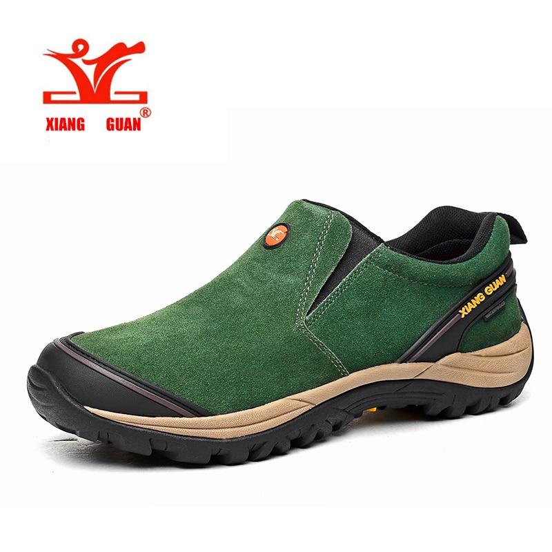 Outdoor Walk Waterproof Men Hiking Shoes Antiskid Trekking ...