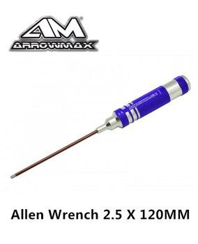 Llave Allen Original AM-110125 ARRWOMAX, 2,5X120MM, piezas de herramientas de servicio rc...