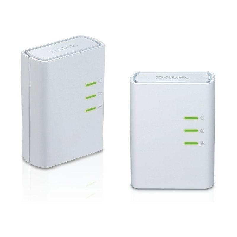 500Mbps AV500 D Link DHP 309AV Powerline AV Network Ethernet Adapter Extender kit DHP 308AV Homeplug EU plug Type Few Scratches
