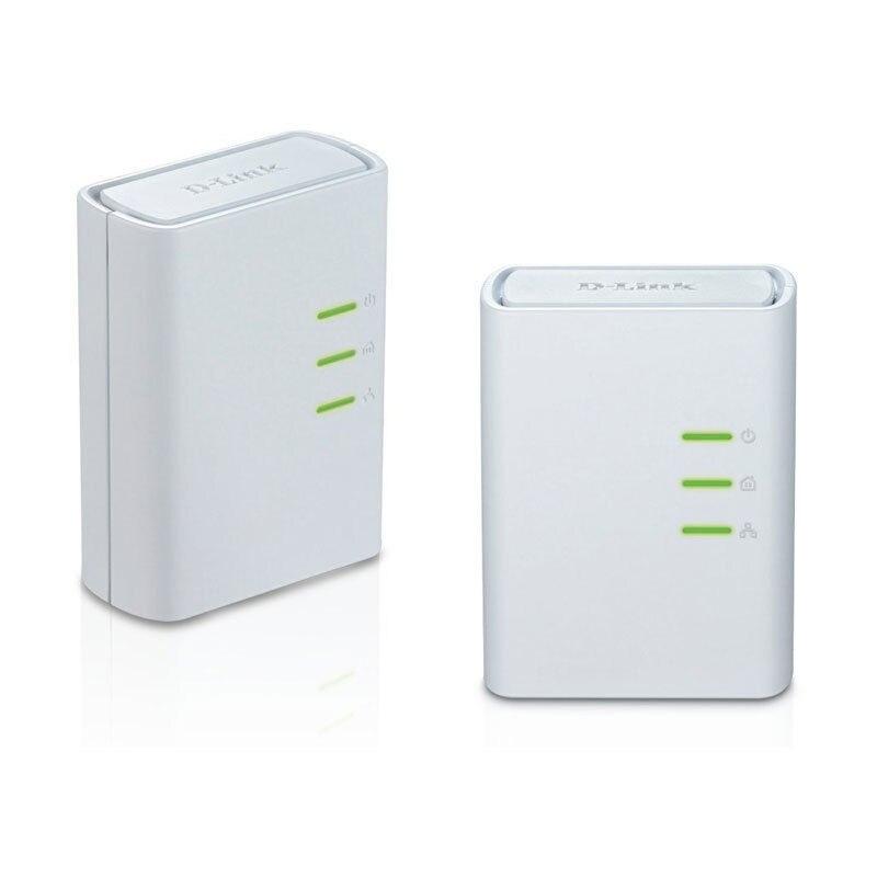 Used 95 New 500Mbps AV500 DHP 309AV Powerline AV Network Ethernet Adapter Extender kit DHP 308AV