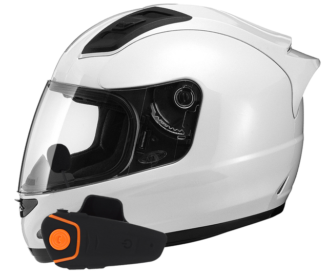 1000 M FM Motocicleta BT Interfone A2DP Bluetooth Headset Sem Fio Fone de Ouvido Rádio FM BT Helmet Interphone Headset Fone de Ouvido