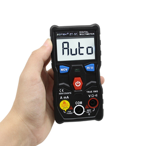 Image 3 - ZOYI ZT S1 جهاز إختبار مالتيميتر رقمى autoranging صحيح rms autootriz Mmultimetro مع NCV LCD الخلفية + مصباح يدوي مثل RM403B