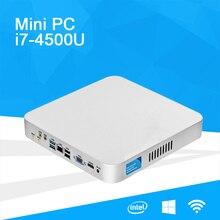 Core i7 Mini PC Windows 10 4GB 8GB RAM DDR3L 320GB SSD Nettop PC 4K TV Box HDMI VGA WiFi Ultra Low Power Mini Desktops