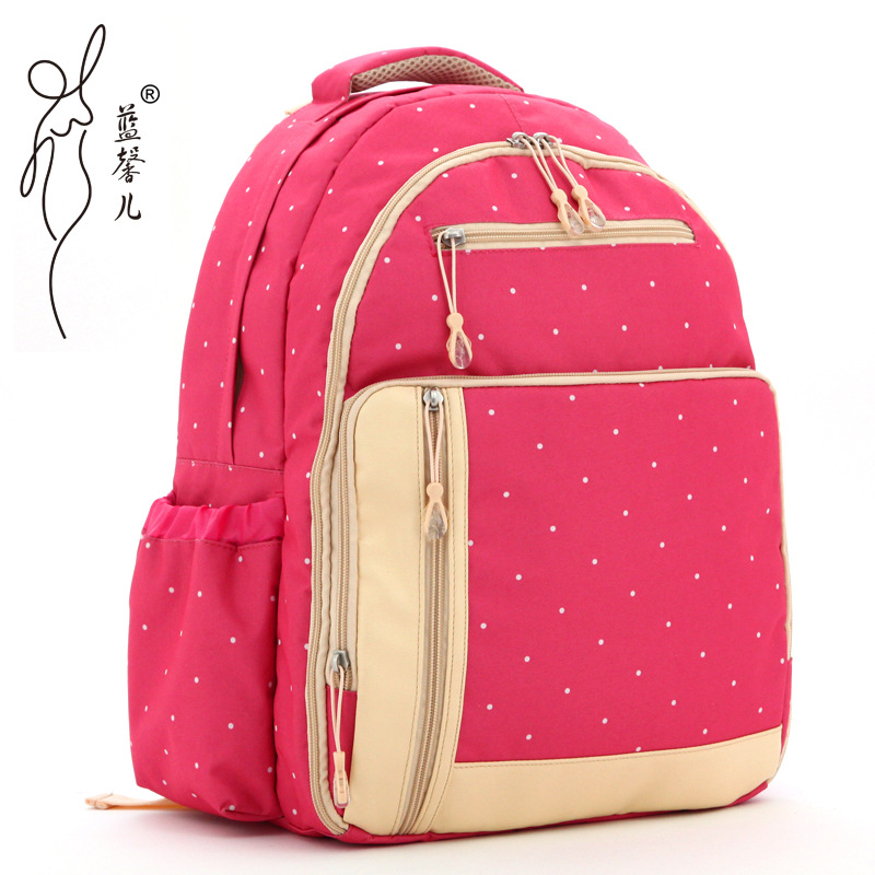 ФОТО Mochilas New Style Bags Just Yet Multi-function Shoulders Large Capacity Mother-to-child Bag Fashion Women Mummy Baby Diaper