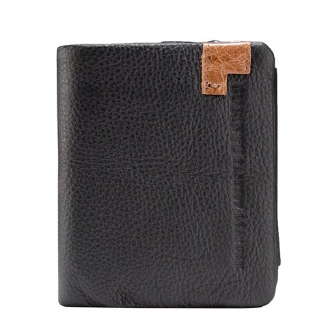 Fashion Cow Leather Men Wallets Short Wallet Purse Card Holder Male Coin Pocket Money Bag Small  Wallets Clutch Bags Carteira Karachi