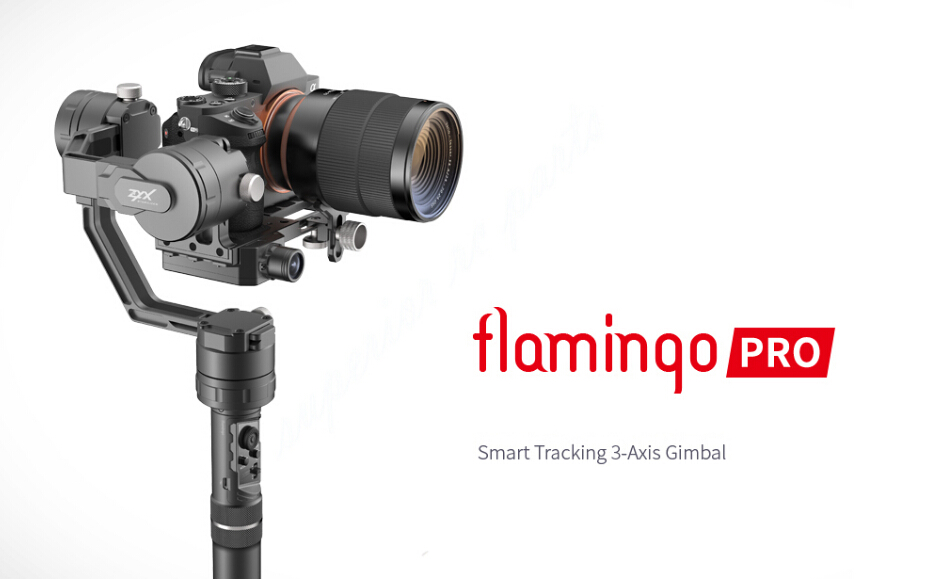 Tarot Flamingo Pro Smart Tracking 3-Axis 360 Handheld Gimbal Stabilizer Support 350g-1900g DSLR Camera ZYX Phone APP Control