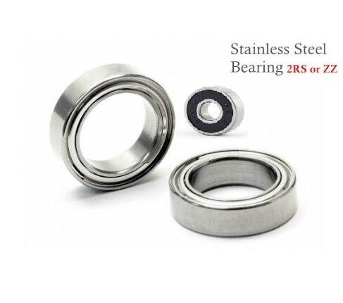 SS6015 2RS ou SS6015 ZZ (75x115x20mm) roulements en acier inoxydable 420-série DGBB SS6000