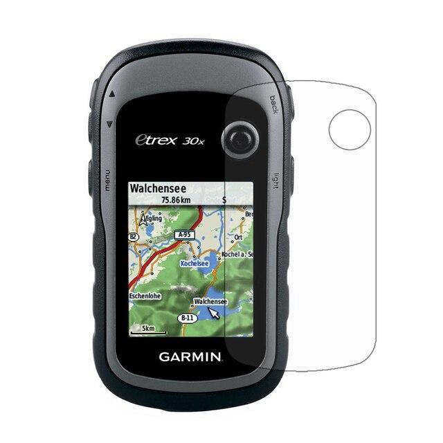 3pcs Screen Protector Cover Guard Shield Film Foil for Garmin Hiking Handheld GPS Navigator eTrex 10x 20x 30x