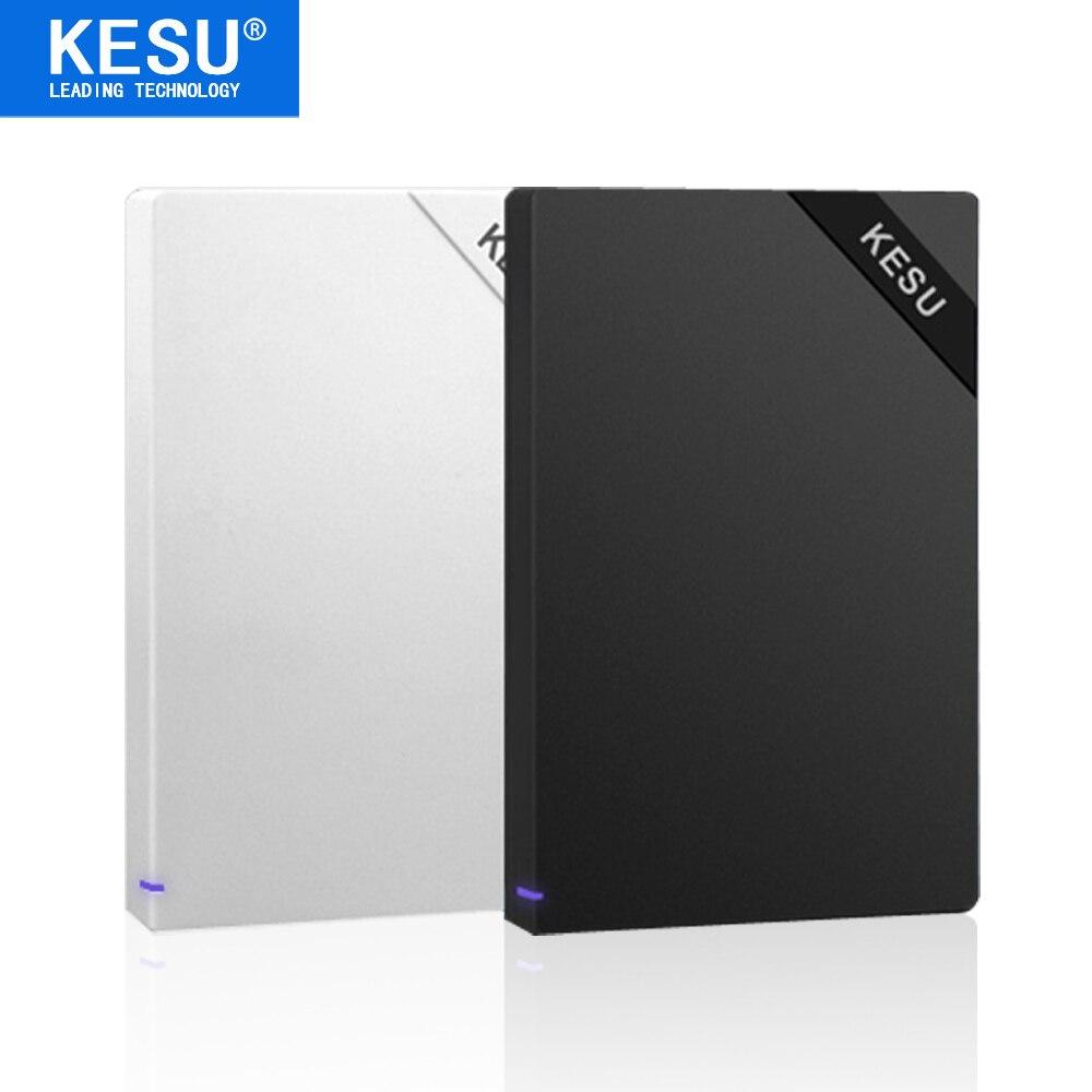 KESU 100% NOUVEAU Portable Externe Disques Durs HDD 1 tb 2 tb USB3.0 Externo Disco HD Disque 1000 gb De Stockage dispositifs pour Ordinateur Portable De Bureau