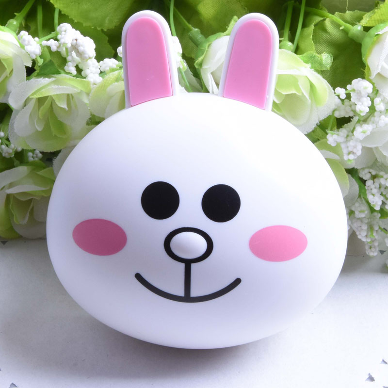 New Hot Cute Mini Cartoon Plastic Contact Lens Box Bear Rabbit Chicken Shape Contact Lens Travel Case Contact Lens Case F0149 ...