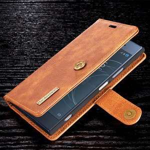 Image 5 - For Sony Xperia  XZ2 XZ3  pu Retro Leather Book Stand Wallet Detachable Magnetic 2 in 1 Removable Card Cover Case