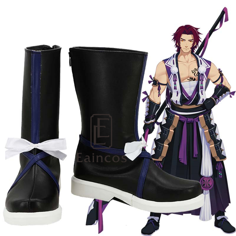 Popular Game Touken Ranbu Online Tonbokiri Shoes Cosplay Party Boots Custom Made