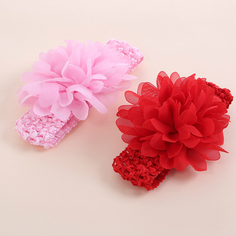 Cute Baby Hair Accessories Girls Headband Flower Baby Lace Headbands For Girls  Baby Girl Bows  Baby Hair 0 Infant Headbands