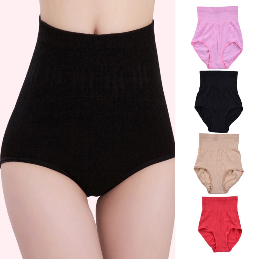 High Waist Belly Pants Shorts Postpartum Underwear Panties Shaping Pants Abdomen Shapewear Shaped Pants Abdomen Underwear