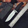 PSRK perro loco cuchillo táctico supervivencia cuchillos al aire libre camping herramienta 14C28N/M390 hoja fija de acero mejor mango G10 KYDEX funda de las fuerzas armadas