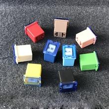 5 шт./лот автомобильные микро предохранители патронного типа FMM предохранители автомобиля квадратный предохранитель 1,6 см 20A-100A