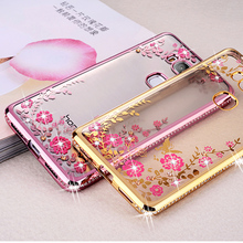 SK HQ Gold Clear Soft Bling TPU Cover Case for Huawei GR5 KII-L21 L22 L05 /Honor 5x x5 5 X KIW-L21 L24 KIW-TL00 KIW-TL00H