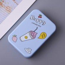 Микс цвет милый в форме мороженого комплект для ухода за глазами коробка контактных линз чехол для девочек Путешествия хранения замачивания комплект контейнера коробка