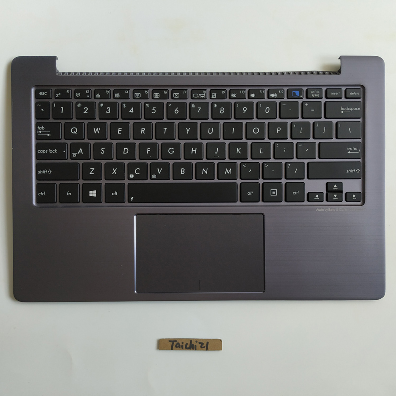 Free Shipping 1PC 90 New New Laptop Touchpad Cover C Palmrest For ASUS TAICHI21 TAICHI 21