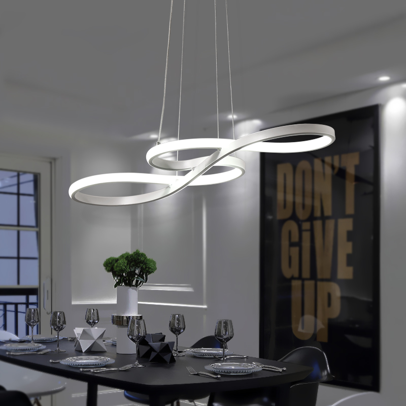 Минимализм DIY висит современные светодиодный открытый подвесные светильники для столовой Бар подвесной светильник suspendu подвесной светиль...