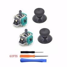 2sets New Original 3D Analog Vibration Joystick +Thumb Stick Rocker Mushroom Cap +GIFTS for XBox One Replacement Repair Parts