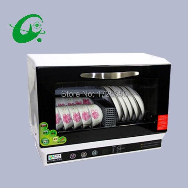 automatic dishwasher 6sets bowls more than 30pcs chicken dishwasher min dish washing machine disinfect dishwashers - Cheap Dishwashers