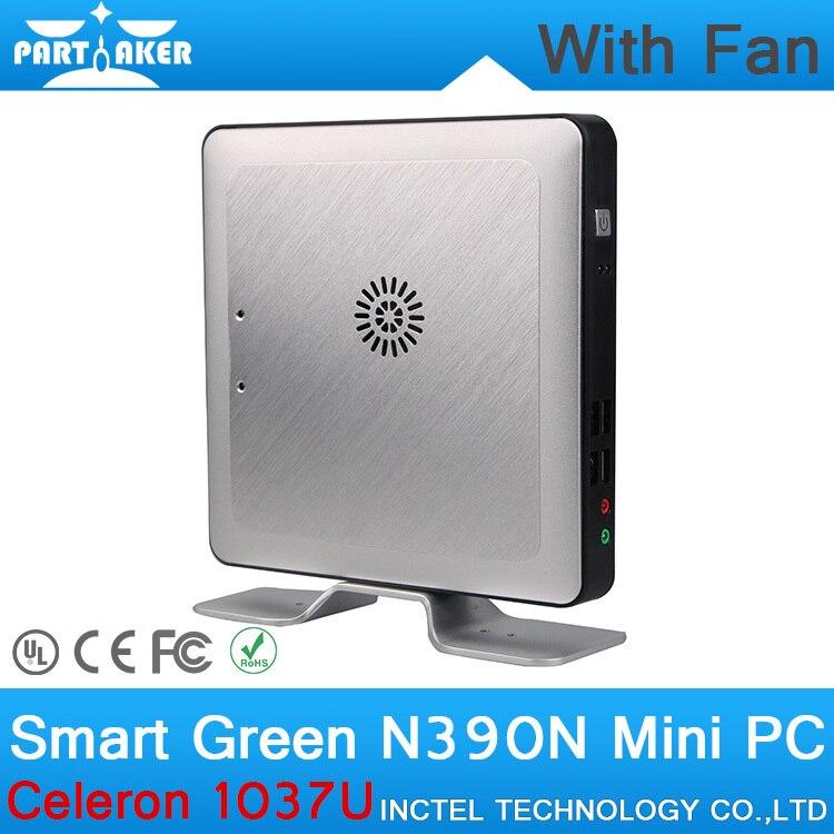 4 G RAM 64 G SSD barato Mini estación de la PC cliente ligero 1037U CPU de doble