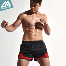2016 New Fast Dry Surfing Men's Board Shorts with Mesh Lining Liner Patchwork Beach Swimming Short Sport Workout Shorts SD002