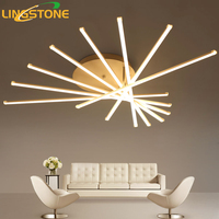 Led אורות תקרת ברק מודרני Plafonnier תקרת קישוט חדר שינה סלון חדר אוכל מסעדה