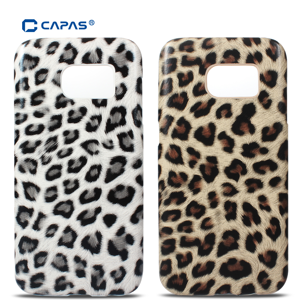 Baby Skin Leopard Pattern Case For Samsung Galaxy S7 Back Cover Ultra Thin Hard Edge Black Original Capas Phone Protective Shell Tracking Code In Half Wrapped From