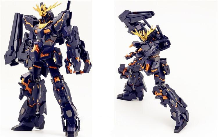 Baofeng Model Gundam finished RX 0 Unicorn gundam 02 Banshee Unicorn mode Mobile Suit kids toys