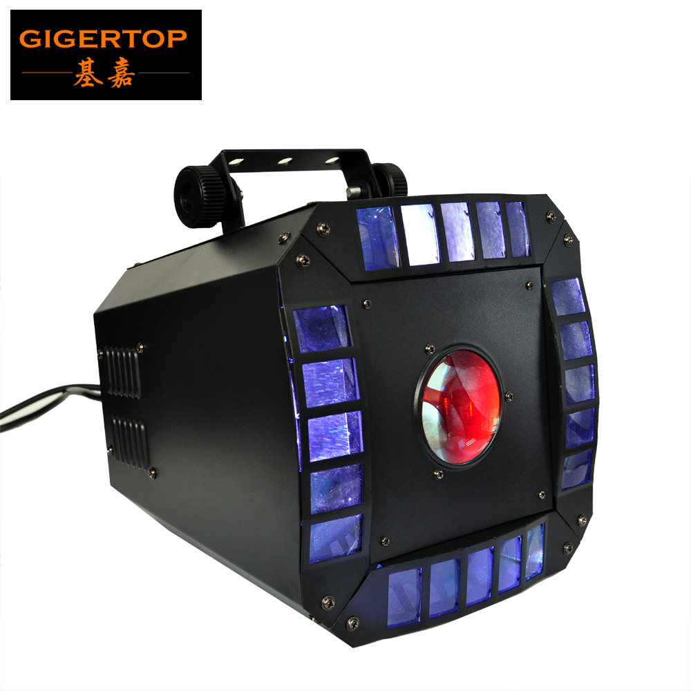 TIPTOP Led Diamond Stage Effect Disco Light 2*RGBA 4IN1 15W Combined LED+64*high MCD 5mm LED DMX 512 Control 7 Channels CE ROHS