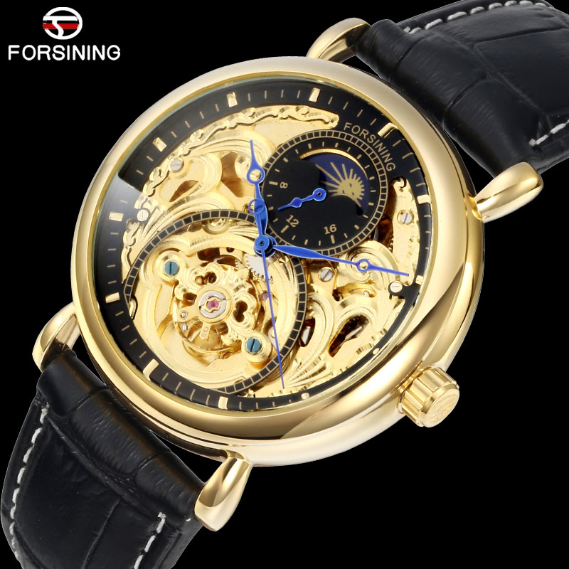 FORSINING Mens Watches Top Brand Luxury Tourbillon Skeleton Watch Men Sport Leather Waterproof Automatic Mechanical Wrist WatchFORSINING Mens Watches Top Brand Luxury Tourbillon Skeleton Watch Men Sport Leather Waterproof Automatic Mechanical Wrist Watch