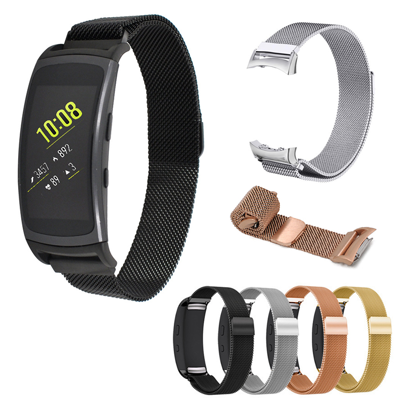 For Samsung Gear Fit 2 Pro Bracelet Band Metal Milanese Watch Strap For Samsung Gear Fit 2 Straps Stainless Steel Smart Watch