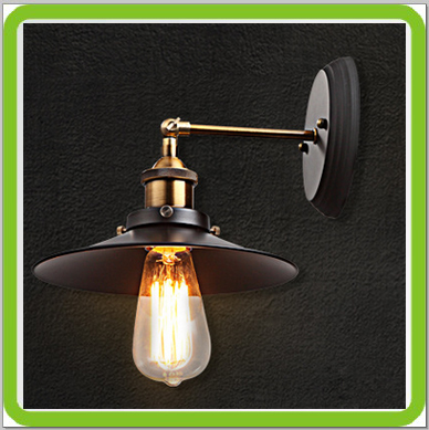 Manufacturer Led Wall Light Fixtures Vintage Classic E27 Screw 100% Copper  Wall Mounted Wall Pack