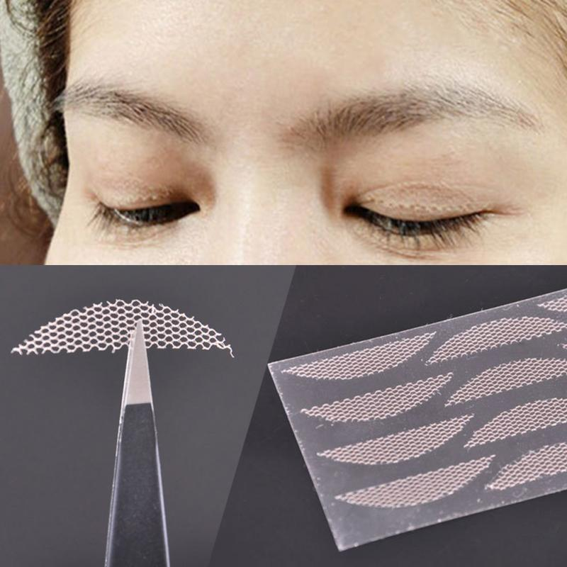 Lace Invisibility Mesh Narrow Double Eyelid Sticker Lace Double Eyelid Paste Eye Tapes Makeup Tools