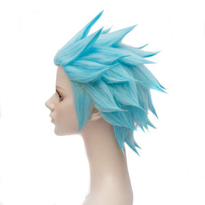 Image 3 - The Seven Deadly Sins Ban Wigs Foxs Sin codicia resistente al calor pelo sintético corto, peluca de Cosplay de peruca