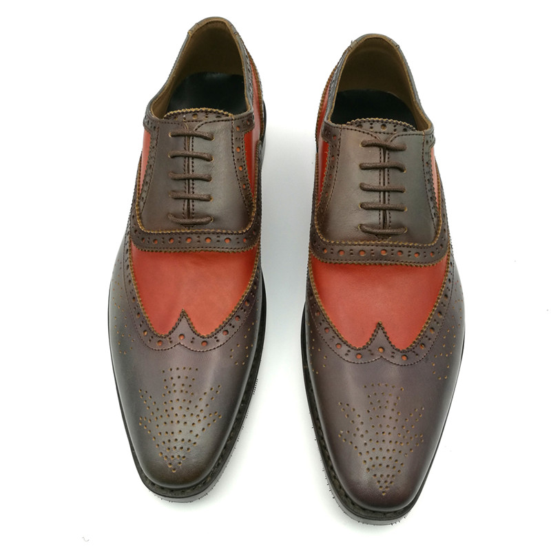 Promotion Discount Men Dress shoes Goodyear handcraft Shoes Genuine Leather Low Price to Sell skp151custom made goodyear 100% genuine leather handmade brogue shoes men s handcraft dress formal shoes large plus size