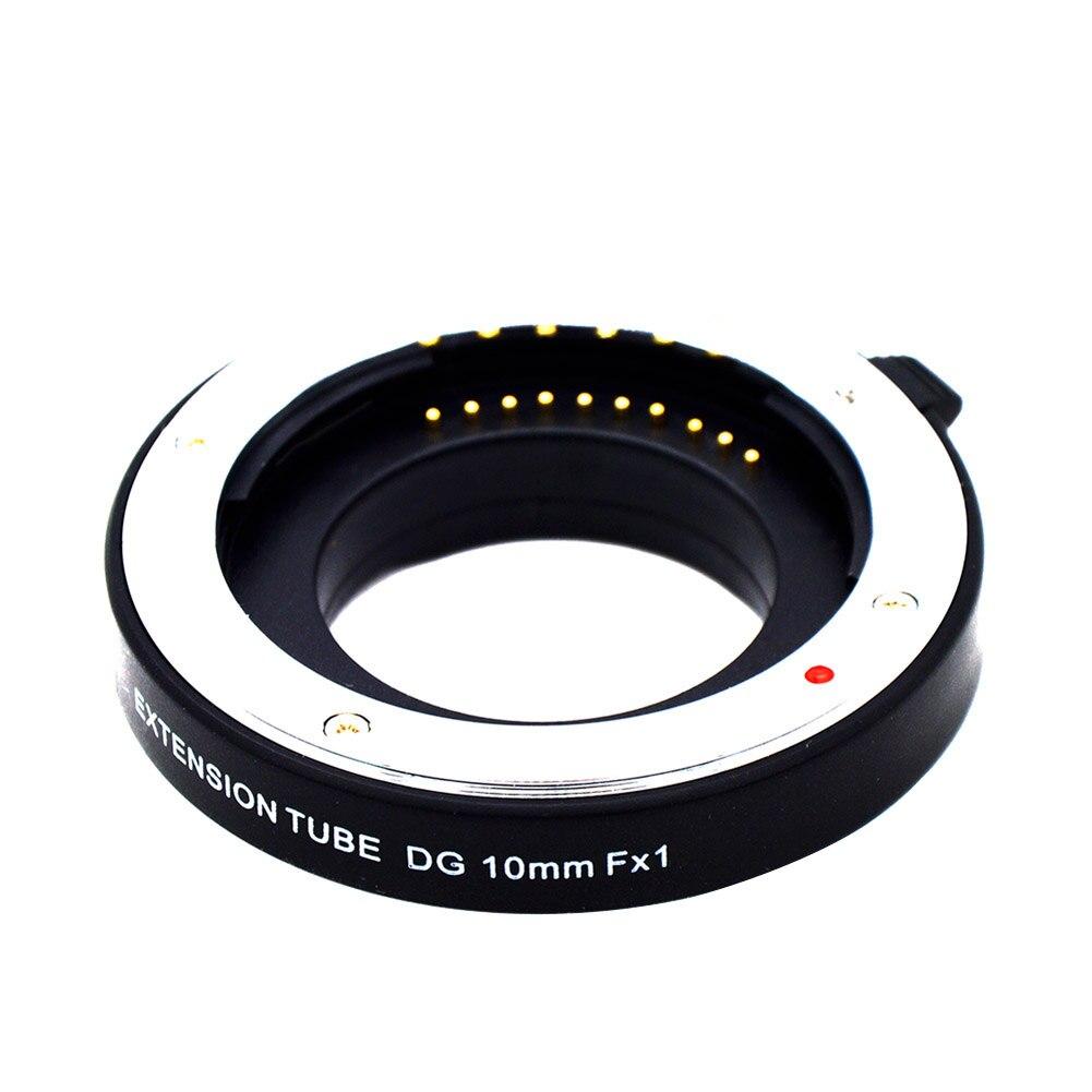 Nouvellement Auto Focus Tube Extension Macro Set pour Fuji FX Caméra Fujifilm Pixco