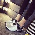 De las mujeres Zapatos Casuales Zapatos de Moda Mujer 2017 Nuevo Super Ligero Cómodo Barato Mujeres Gimnasio Pisos Transpirables