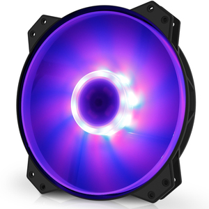 Image 4 - Cooler Master R4 200R 08FC R1 MF200 Computer Case 20cm RGB Big Fan CPU Cooler Radiator Water Cooling 200mm Replaces Fans