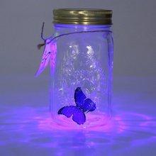 Lamp Jar Butterfly Butterfly